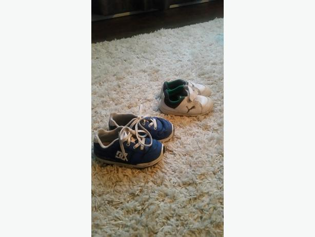 Puma and DC shoes - Toddler Size 6 and 8