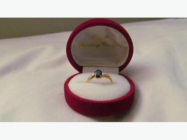 Ring - sapphire women's
