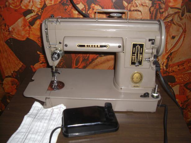 Singer 301 Sewing Machine, with Extras