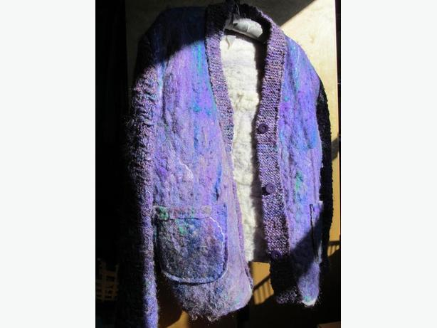 Jacket - handmade wool