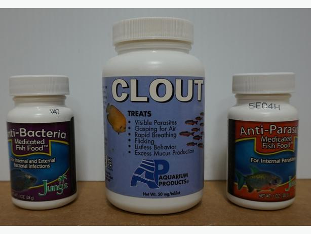 Aquarium Medicated Fish Food and Treatment