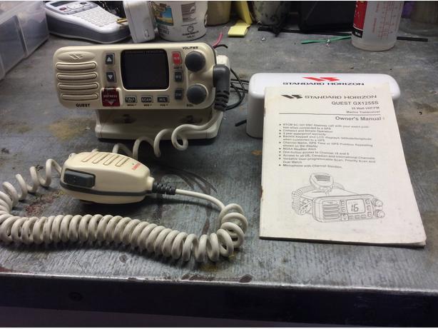 VHF Radio Standard Horizon Quest GX1255S