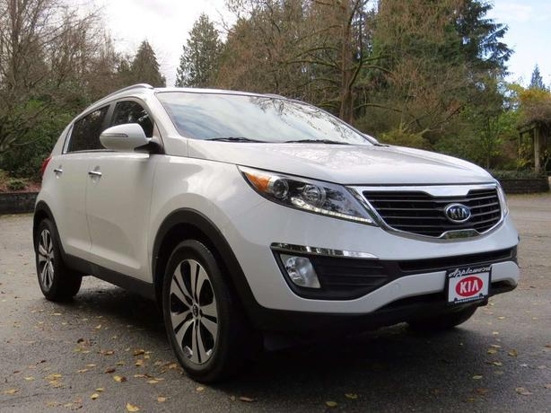 2012 Kia Sportage EX FWD | Accident Free! | Clean Low KMS | Local Registry