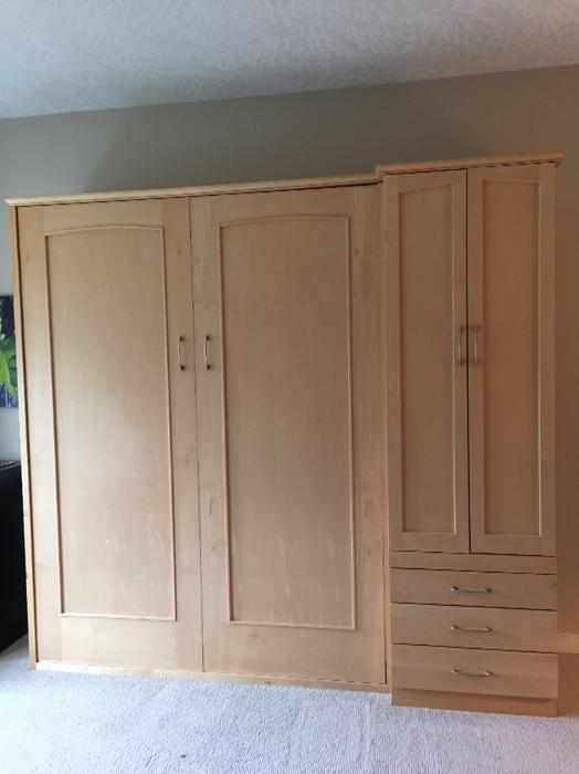 Murphy Beds Gatineau : Maple murphy bed moving and must go saanich victoria