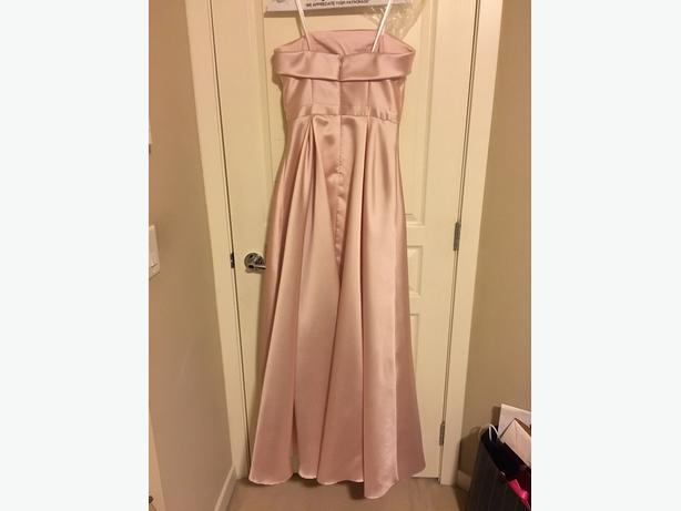 Blush Pink Evening Dress/Gown A-Line