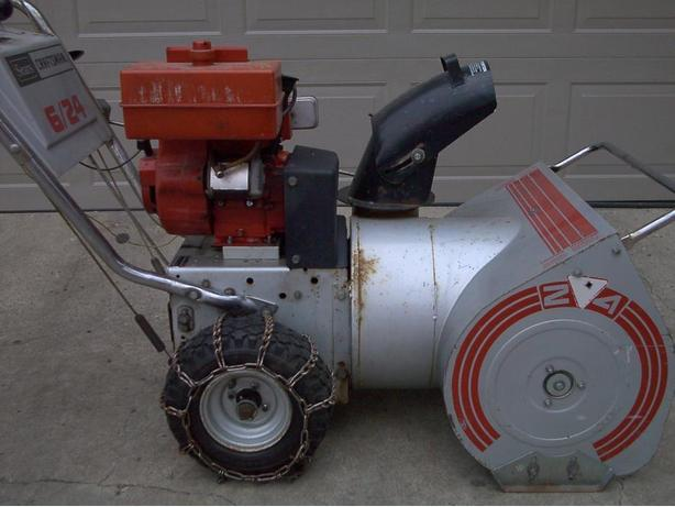 how to start a craftsman snowblower