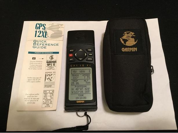 Garmin Handheld GPS 12XL