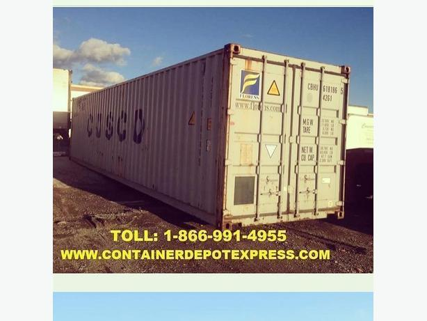 New / Used Storage Containers for RENT or PURCHASE!!!