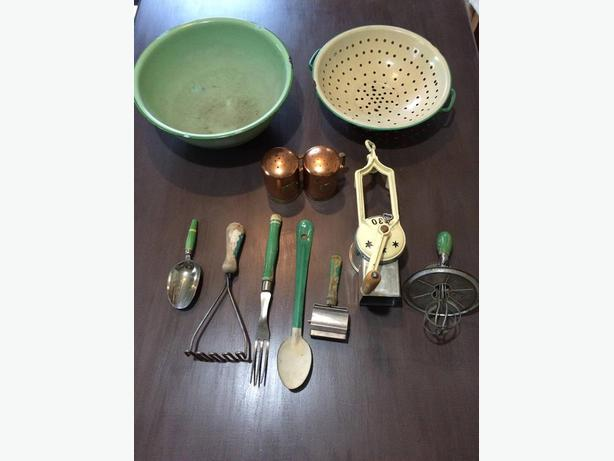 Antique kitchen wares