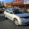 2002 Honda Civic LX Manual Transmission - Great Value