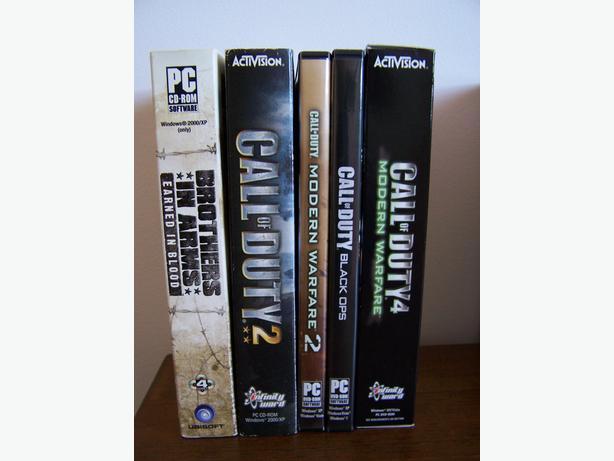 Assortment PC CD-ROM Games