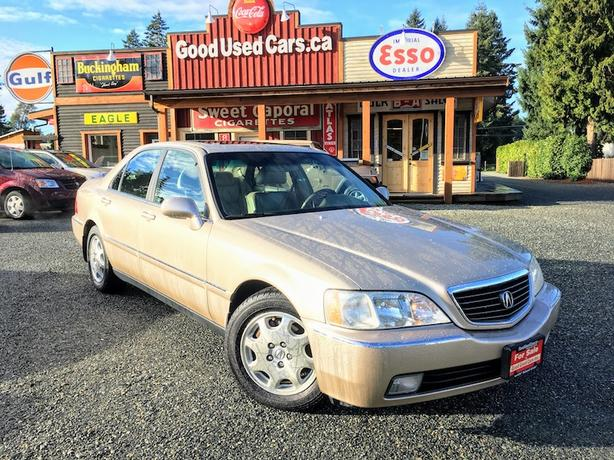 2001 Acura RL - Fully Loaded Luxury Sedan - Flagship Model