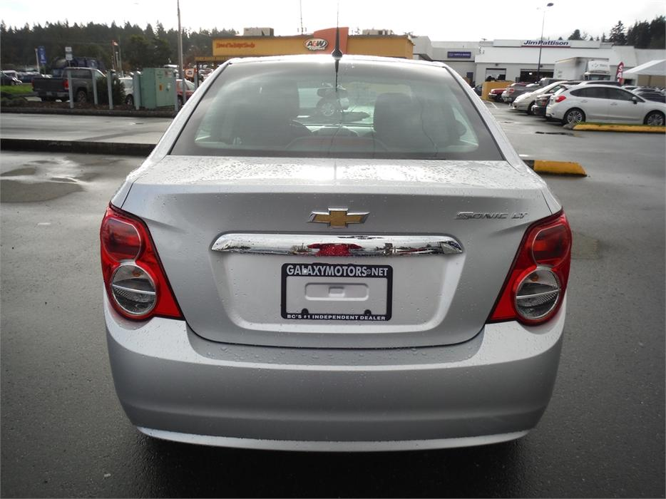 Galaxy Motors Courtenay >> 2014 Chevrolet Sonic LT - Bluetooth, Remote Start, OnStar Outside Nanaimo, Parksville Qualicum ...