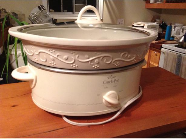 Large, stoneware RIVAL Crock Pot - NEW PRICE