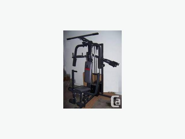 Weider home gym full work out