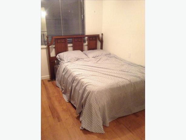 Double bed frame and matress available