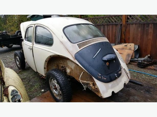 1968 VW Bug Project