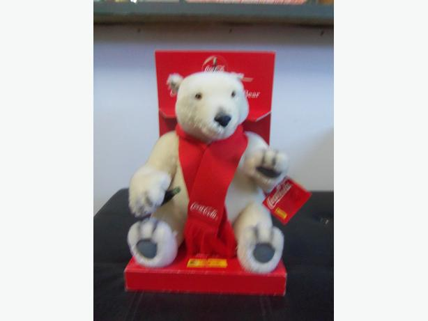 Coca cola Steiff  Polar Bear