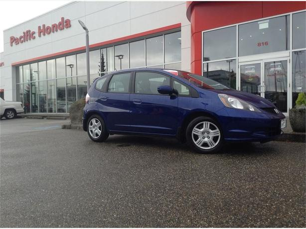 2013 Honda Fit LX-CERT - BEAUTIFUL CERTIFIED 1 OWNER CAR