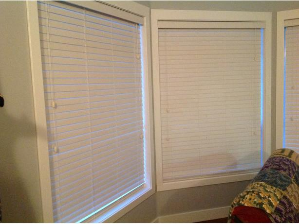 4 - Venetian Faux Wood Blinds