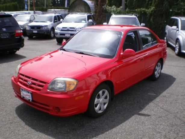 2004 Hyundai Accent GL, 124000 km, automatic,