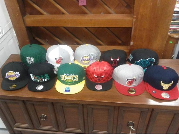 New NBA Baseball Hats