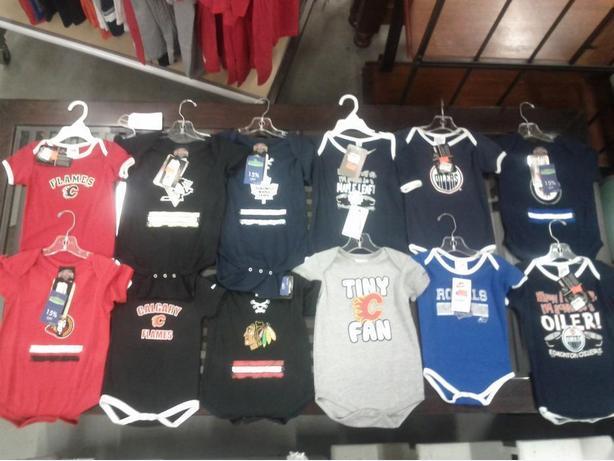 NHL Branded Onesies