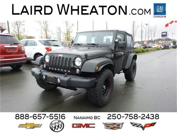 2014 Jeep Wrangler Sport 4X4 w/ Custom Rims and Spotlights