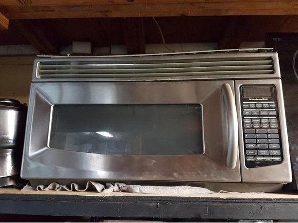KITCHEN AID OVER THE RANGE MICRPOWAVE OVEN