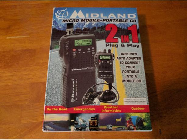 Midland 75-822 CB Radio
