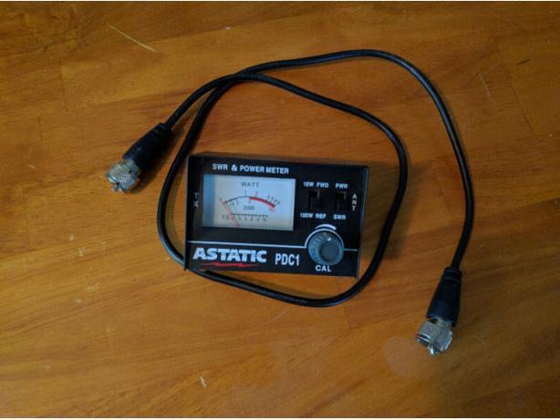 Astatic PDC1 100 Watt CB Radio SWR Meter