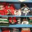 Various Youth and Infant NHL and CFL T-Shirts