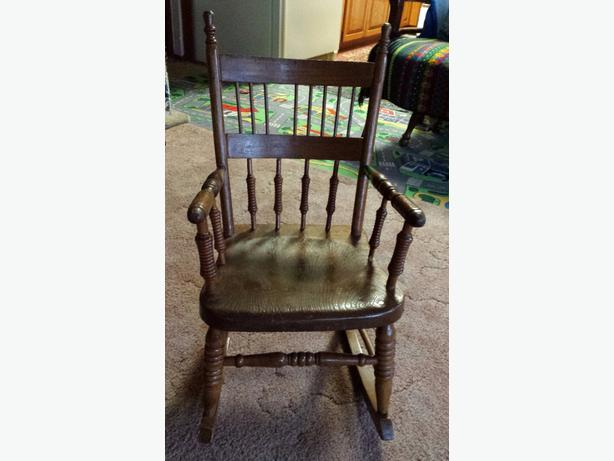 FREE: Small Wooden Rocker