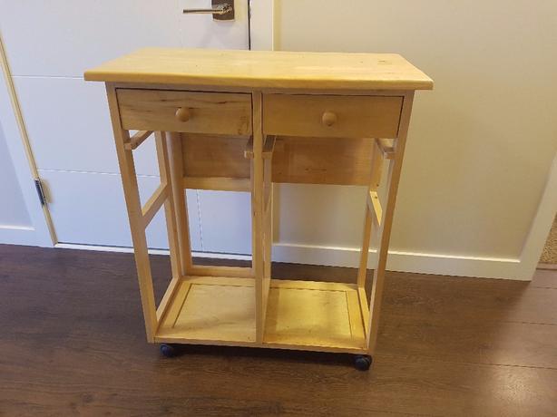 kitchen island table with storage