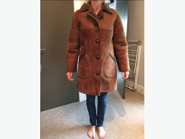 Authentic British Sheepskin Coat