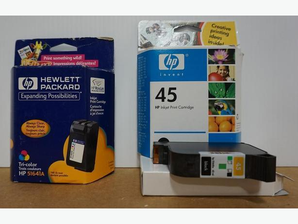 HP Printer Inkjet Cartridges 51641A and 51645A (45) – Sealed