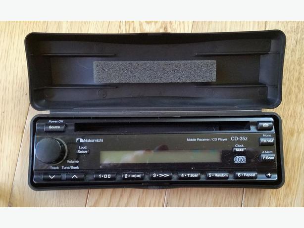 Nakamichi Car Stereo and AM FM radio