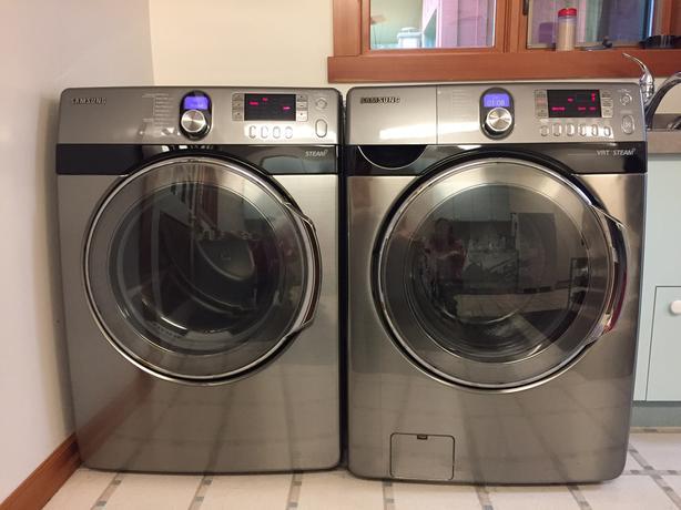 Samsung Steam Washer and Dryer