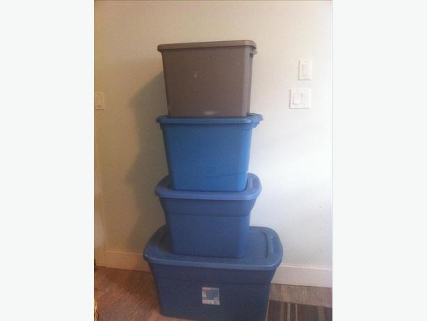 Clean Storage Bins