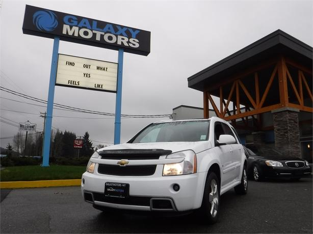 2008 Chevrolet Equinox Sport - Leather Int, DVD Player, Roof Racks