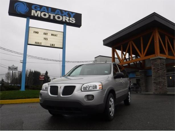 2009 Pontiac Montana SV6 - Leather Int, DVD Player, Roof Rack