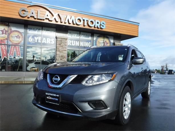 2015 Nissan Rogue S - AWD, Reverse Camera, Satellite Radio
