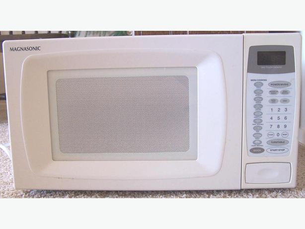Nice Powerful Magnasonic Microwave with Working Turntable