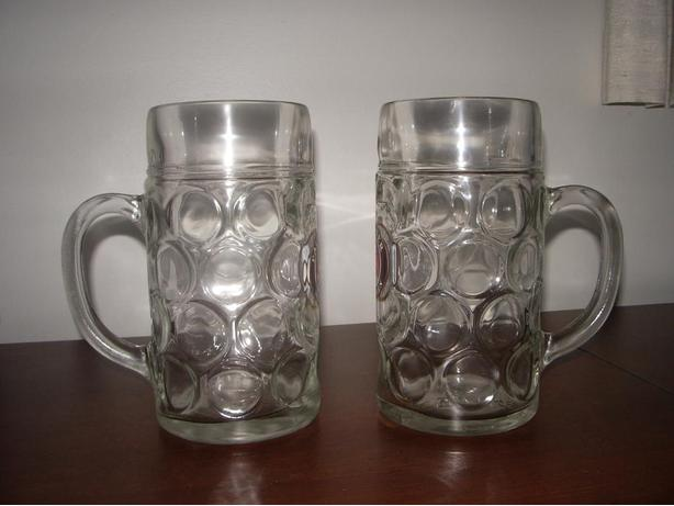 Two large Beer mugs