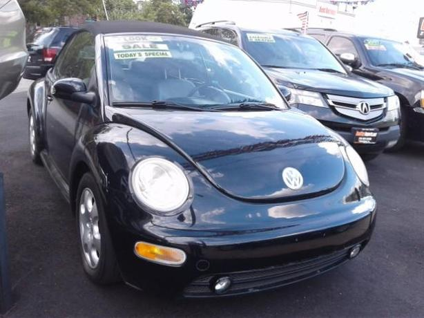 2003 VOLKSWAGEN BEETLE CONVERTIBLE (LEATHER/AUTO! >Certified Pre-Owned