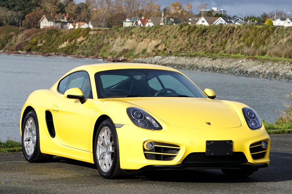 2014 Porsche Cayman In Racing Yellow 27k Kms Victoria