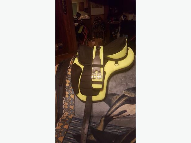 brand new saddle