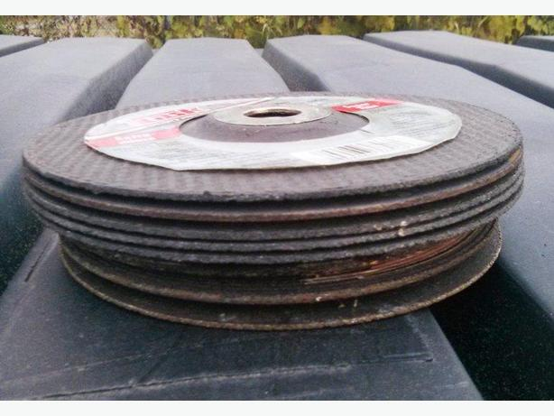 REDUCED!! DISCS FOR ANGLE GRINDER – 7 INCH – NEW!