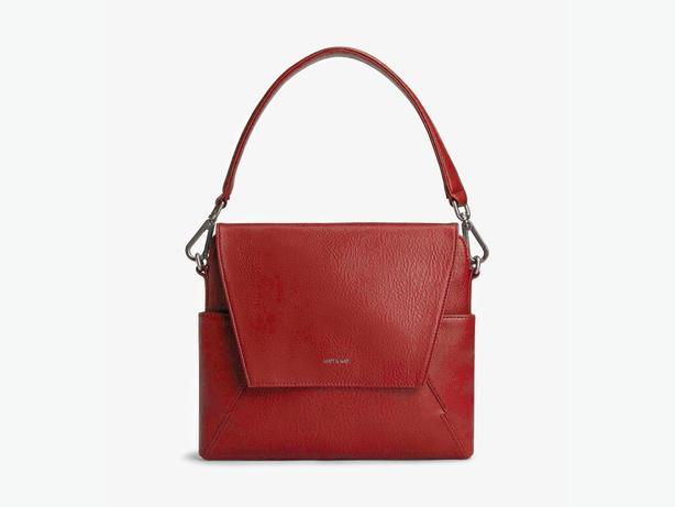 Authentic Matt and Nat Minka Bordeaux Handbag