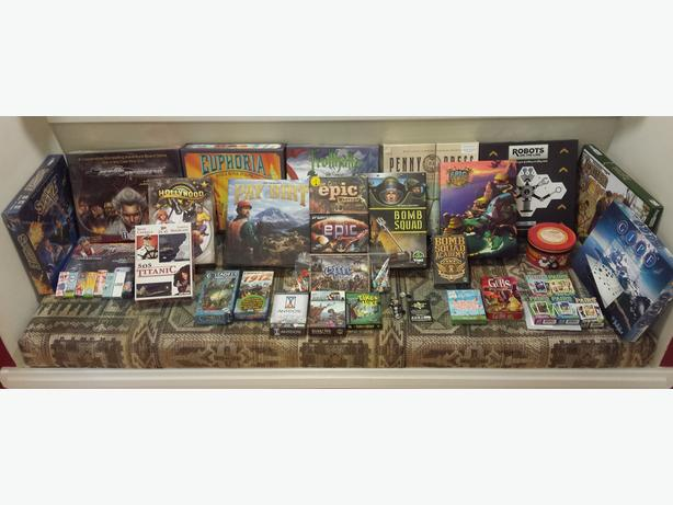 Lots of Kickstarter & Euro Board Games!